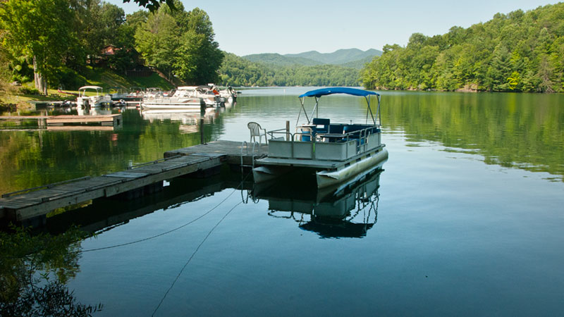 Marina Public Boat Ramps Nantahala Lake Fishing