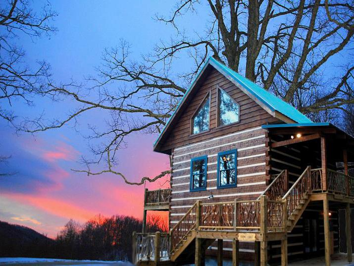 cabin estate rentals banner management cabins vacation overlookliving overlook agency rental elk boone nc property
