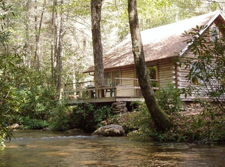 cabin htm for owner gorge rafting nantahala rentals by water cabins near rent nc white nantahla river vacation